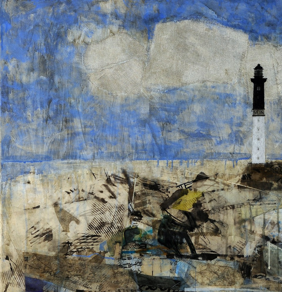 Fisherman under the lighthouse